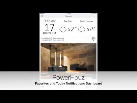 PowerHouz - Apple HomeKit App - How to set up Favorites and Today Notifications Dashboard