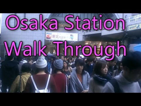 Osaka Station Walk Through | The Boundless Journey