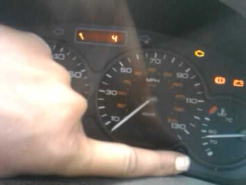 how to reset service indicator, light on a 2002 peugeot 206 1.6
