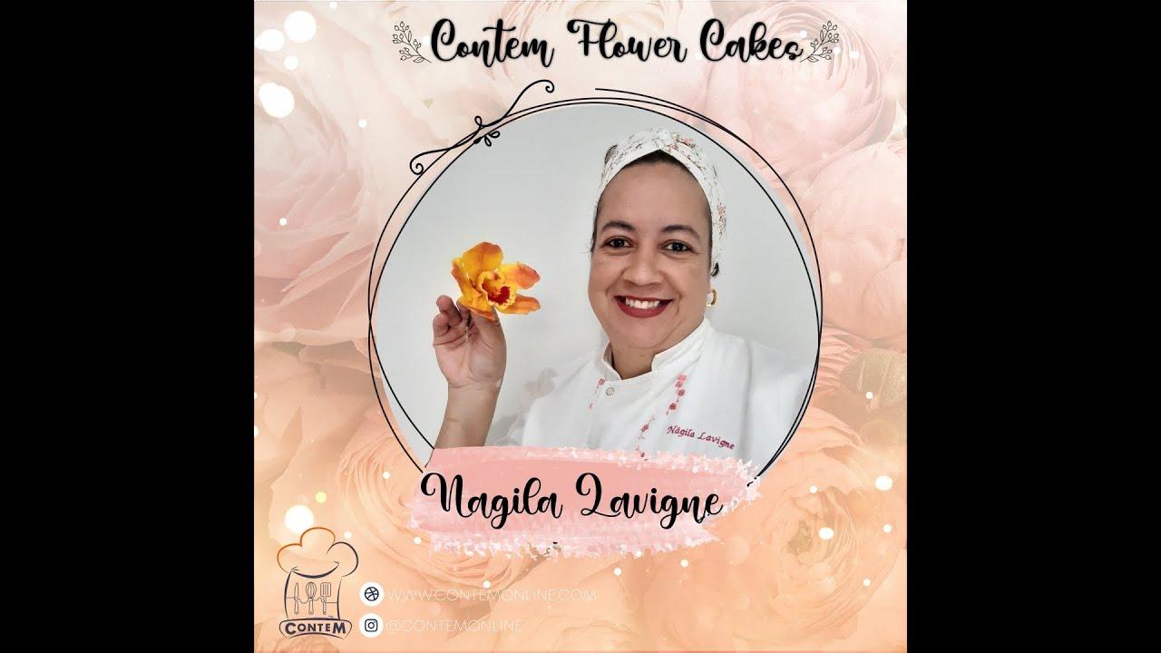 CONTEM FLOWER CAKE POR NAGILA LAVIGNE