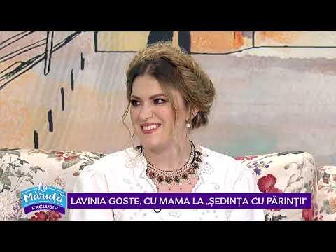 """Lavinia Goste, cu mama la """"sedinta cu parintii"""""""
