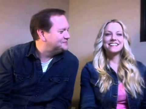 Brittney Powell  and Tom Konkle