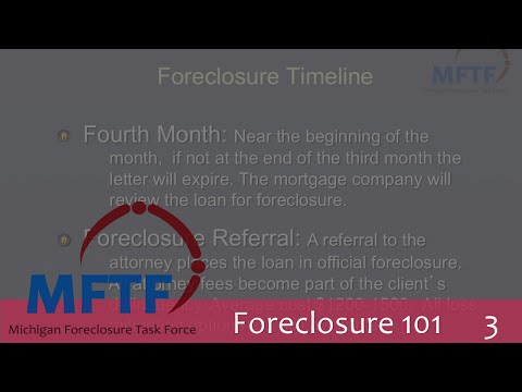 Foreclosure 101: Mortgage & Tax Foreclosure Timeline (3/5)