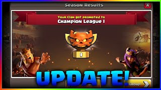 Clan War Leagues Update Details | New Magical Items, New Trap, Goblin Maps | Clash of Clans