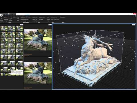 Capturing Reality Tutorial: Model computation from images