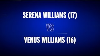 US Open Preview: Venus vs. Serena Williams on ESPN!