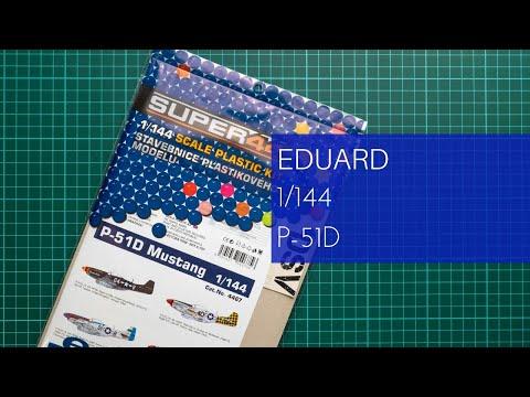 EDUARD 4467 P-51D Mustang Super44 in 1:144
