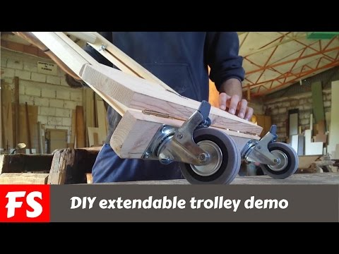 DIY extendable trolley (FS WoodWorking)