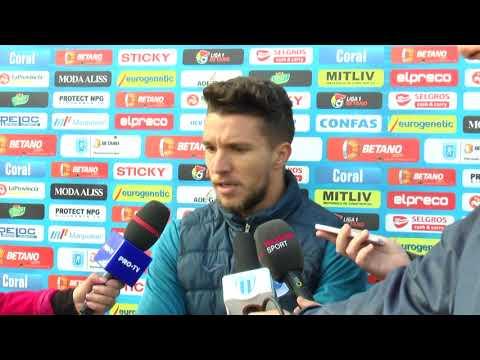 Declarații Alexandru Băluță, la finalul partidei amicale cu SV Meppen