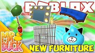 Roblox Meepcity - NUOVO FURNITURE, JAIL CELL, OLD TV E ALTRO!