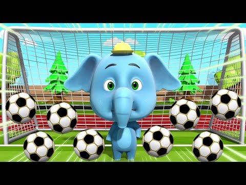 Adu Penalti | Video Sepakbola Lucu | Kartun Untuk Anak-anak | Penalty Shootout | Loco Nuts