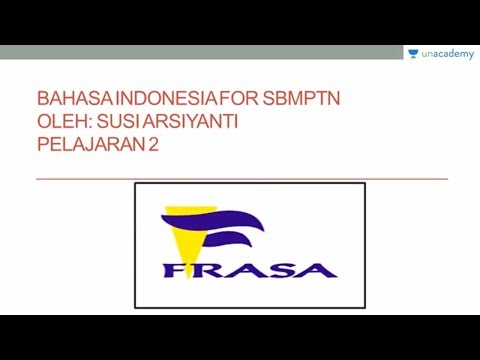Materi Kalimat Bahasa Indonesia