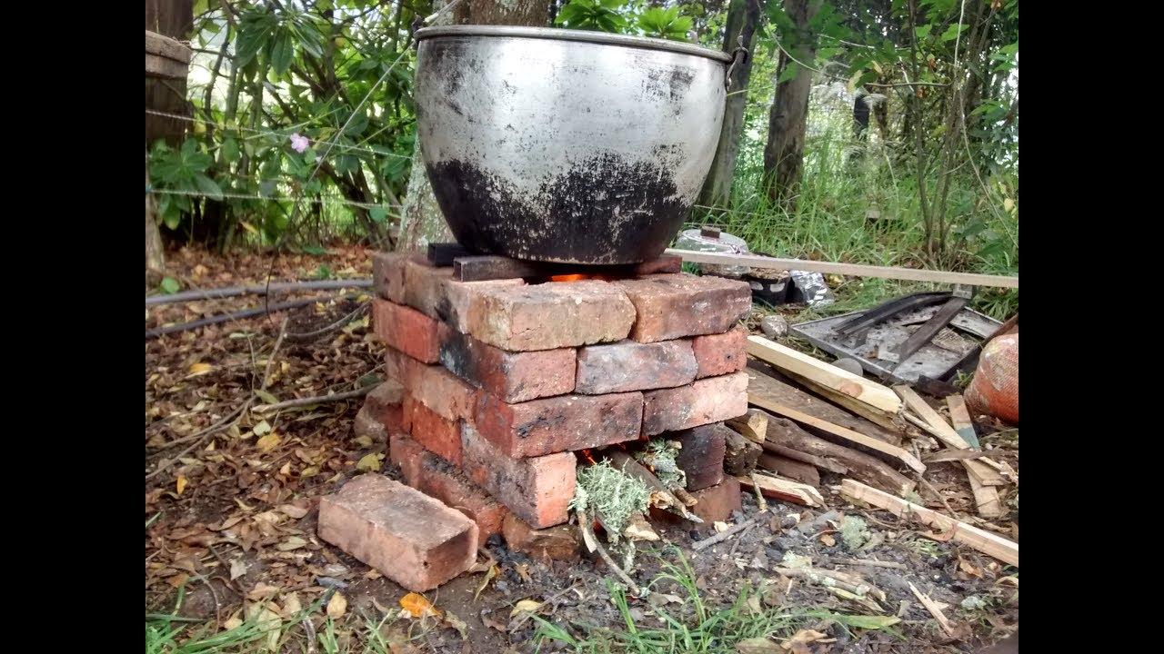 Estufa de le a eficiente simple y r pida de ladrillos Construir una pileta de ladrillos