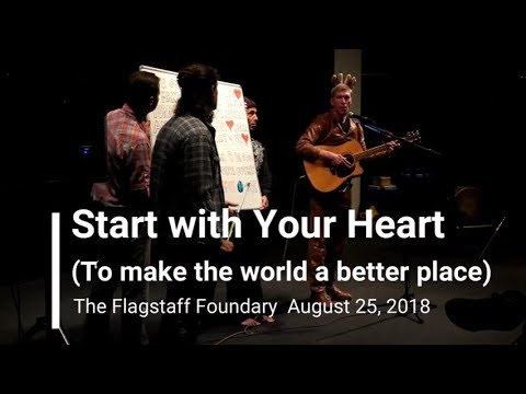 Start with Your Heart 082518 Flagstaff Foundary