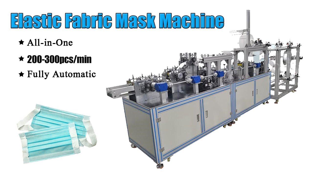 200-300pcs/min Face Mask Making Machine Fully Automatic