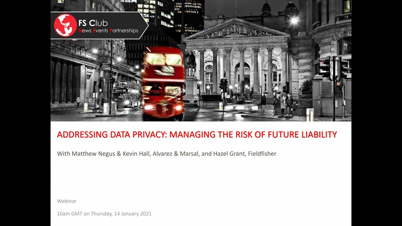 Addressing Data Privacy: Managing The Risk Of Future Liability