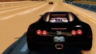 Need For Speed: Undercover - Bugatti Veyron 16.4 - Test Drive Gameplay (HD) [1080p60FPS]