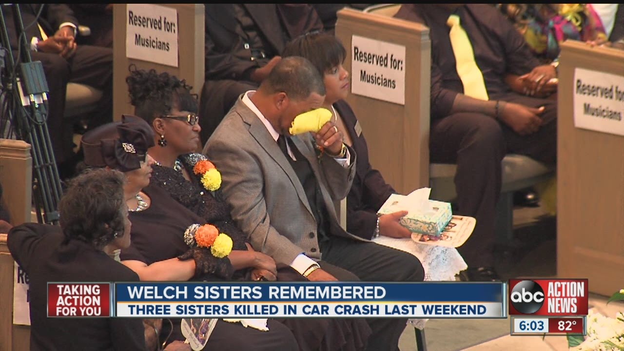 Family and friends remember sisters killed in car crash