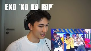 KPOP LOVER REACTS TO: EXO 'KO KO BOP' LIVE