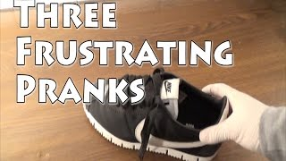 3 Frustrating Pranks You Can Do At Home!