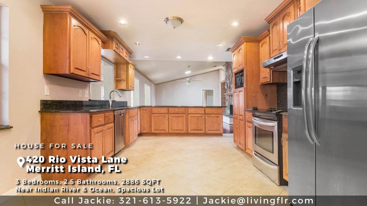 HOUSE FOR SALE   420 Rio Vista Ln, Merritt Island, FL 32952
