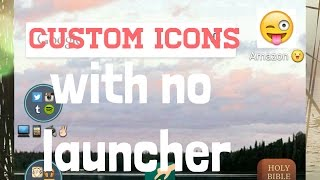 How to Use Custom Icons WITHOUT a Launcher - Aycon Tutorial | SoleilTech