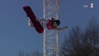 JO 2018 : Snowboard - Half-pipe Femmes. Le show de l'Américaine Chloe Kim championne olympique !