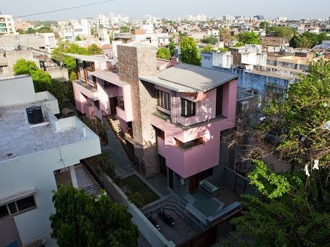 Sai Nayana House in Ahmedabad by Anthill Design
