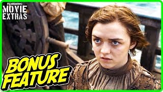GAME OF THRONES | Maisie Williams on Playing Arya Stark Featurette (HBO)