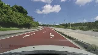 R329 drive 沖縄市高原~宜野座村松田