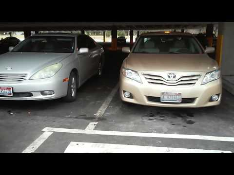 2003 Lexus ES 300 V6 Vs. Body Style Comparison 2010 Camry XLE V6