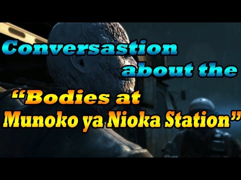 MGSv Voices | Listened to the conversation about the bodies at Munoko ya Nioka Station