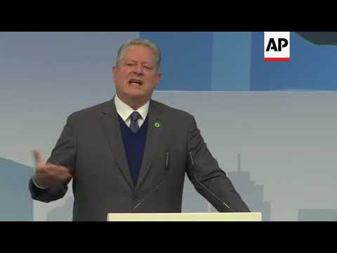 Gore says that world on brink of 'sustainability revolution'