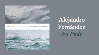 Alejandro Fernández - No Pude | Letra thumbnail