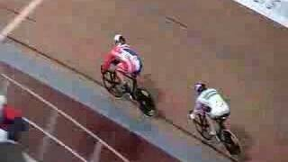 uci track world cup sprint 1 4 final hoy v s perkins
