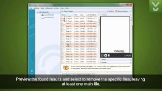 Auslogics Duplicate File Finder - Rid your PC of duplicate files - Download Video Previews