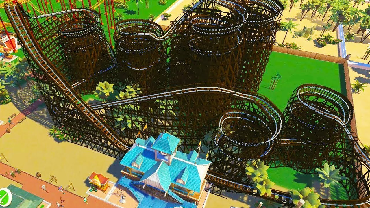 Building Thrilling Roller Coasters in RollerCoaster Tycoon Adventures