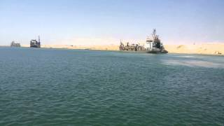 Historic event in Egypt: the completion of the drilling and dredgingJuly 24, 2015