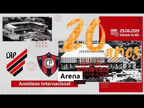 Athletico Paranaense X Cerro Porteño