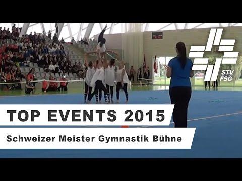 TV Teufen - Schweizer Meister 2015 Gymnastik Bühne