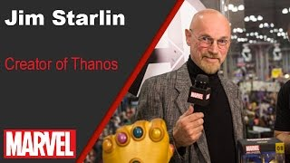 Jim Starlin - Marvel LIVE! NYCC 2016