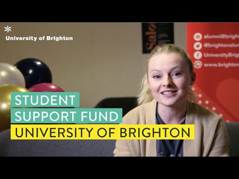 University of Brighton Student Support Fund