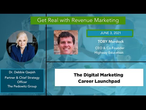 How To launch your Digital Marketing career |  Toby Murdock