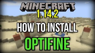 How to INSTALL Optifine in Minecraft 1.14.2+! (INCREASE FPS!)