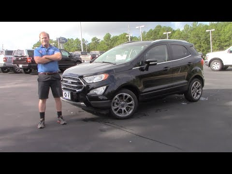Is The 2019/2020 Ford Ecosport Titanium The Best Fuel Saving, Advanced, And Fun Sub Compact SUV?