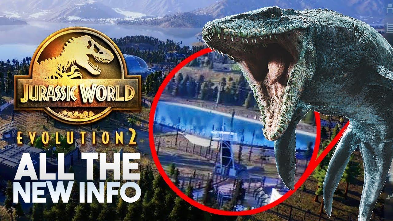Mosasaurus Lagoon! New Dinosaurs! All The News | Jurassic World Evolution 2 News & Speculation