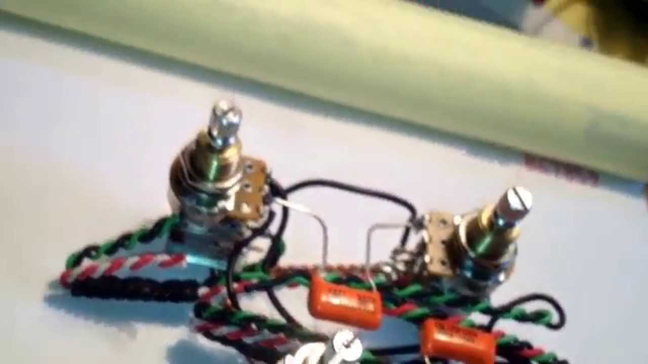 jimmy page gibson les paul pre wired guitar wiring harness push push jersey shore guitar garage com [ 1280 x 720 Pixel ]