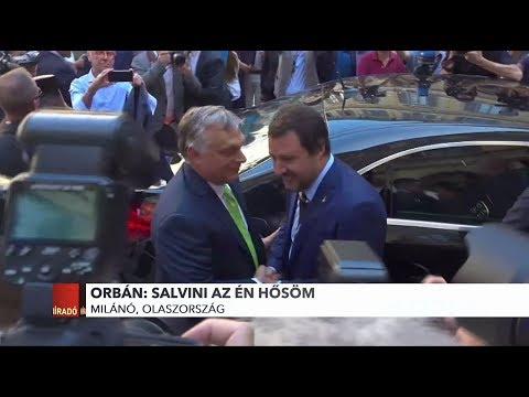 Orbán: Salvini az én hősöm