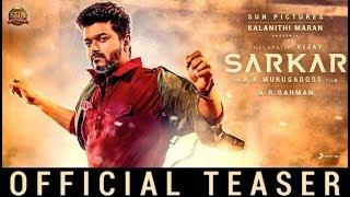 Sarkar - Official Teaser Tamil | Thalapathy Vijay | AR Murugadoss | AR Rahman | Sun Pictures