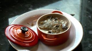Cassolette de Saint-Jacques aux champignons